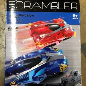 SCRAMBLER new climbing wall car